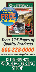 Visit Klingspor's Woodworking Shop! CLICK HERE For The Latest Catalog!